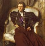John Singer Sargent, Mrs. Charles Thursby, 1897–98