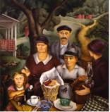 Minetta Good, At the Country Auction, 1935