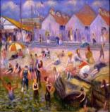 William James Glackens At the Beach, 1918