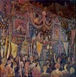 Jerome Myers Italian Procession, ca. 1925