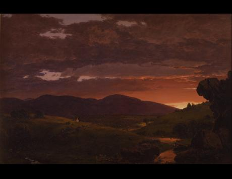 Twilight, 'Short Arbiter, Twixt Day and Night', 1850